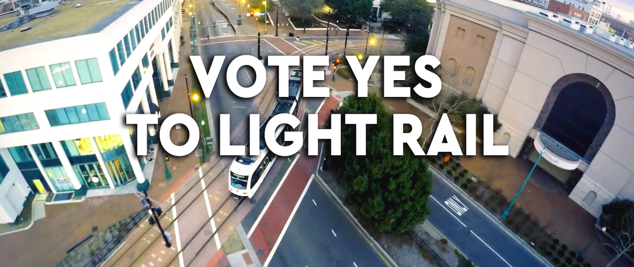 Vote Yes to Light Rail